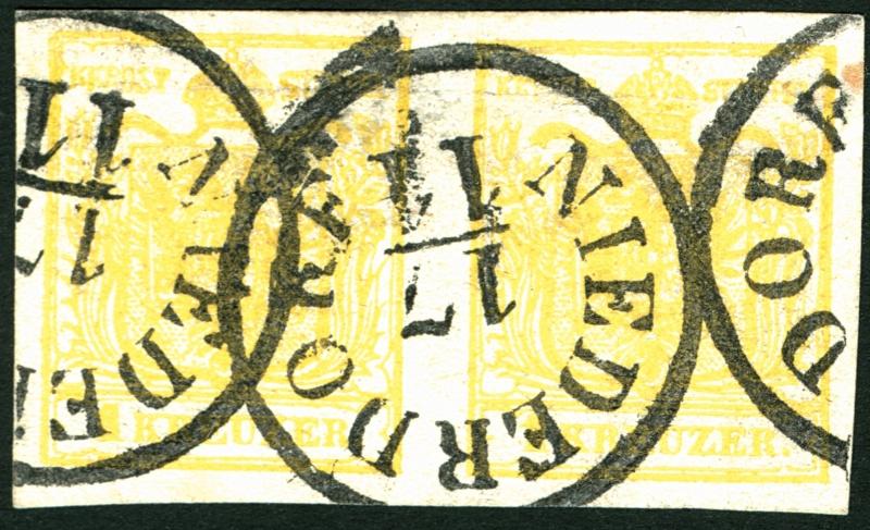 Die erste Österreichische Ausgabe 1850 - Seite 3 1_kr_110