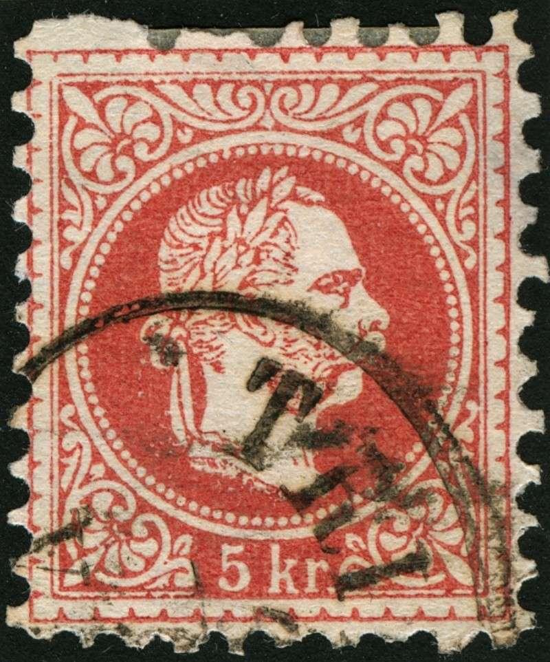 Freimarken-Ausgabe 1867 : Kopfbildnis Kaiser Franz Joseph I - Seite 5 21_feh10