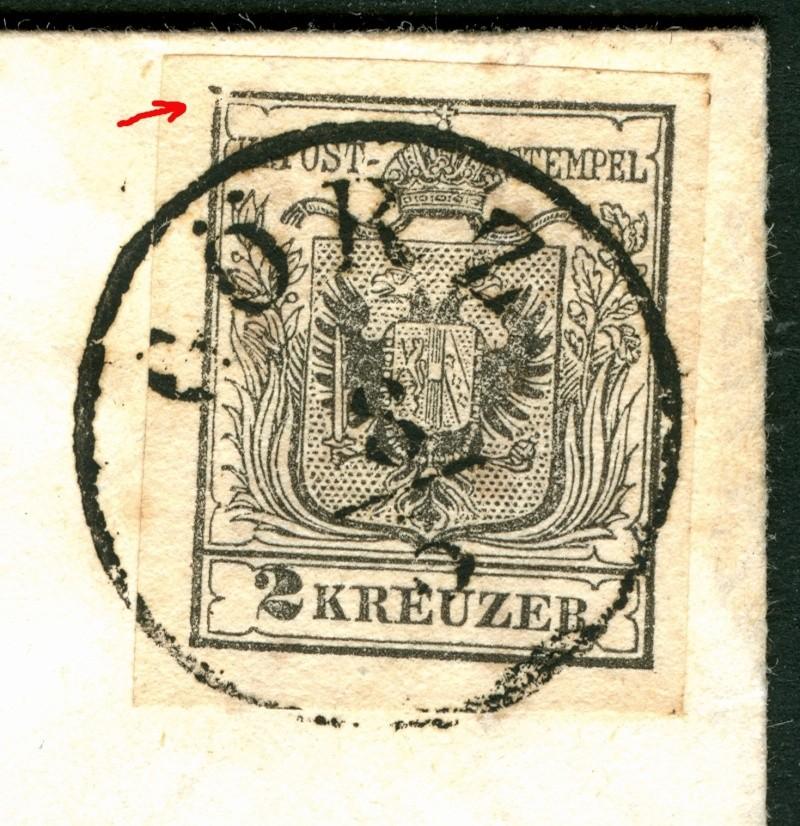 Die erste Österreichische Ausgabe 1850 2_kr_110