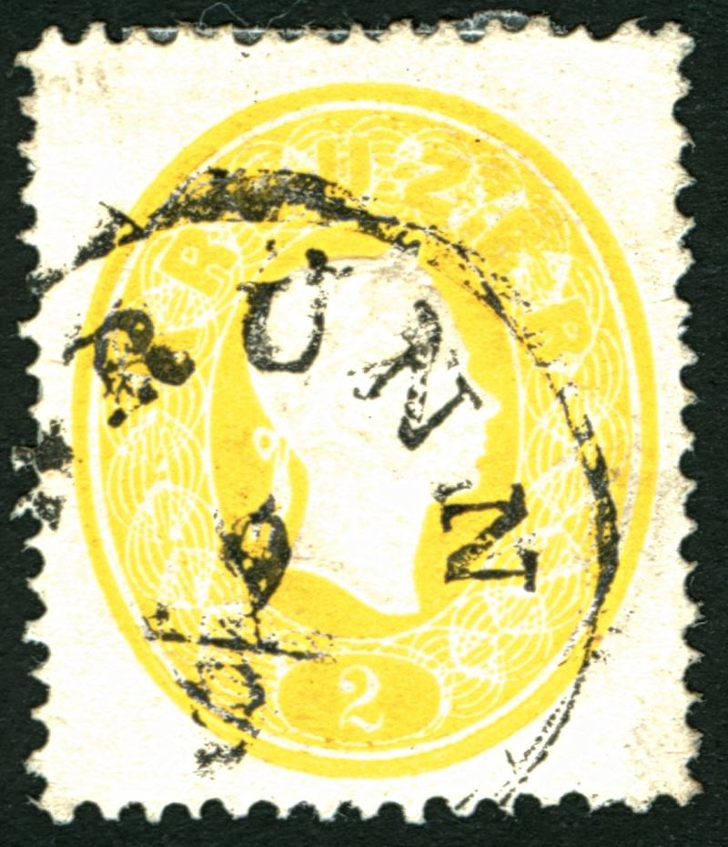 Die Freimarkenausgabe 1861 2_kr_111