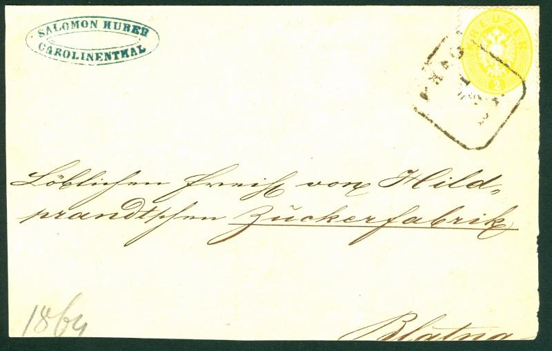 Die Freimarken-Ausgabe  1863 2_kr_116