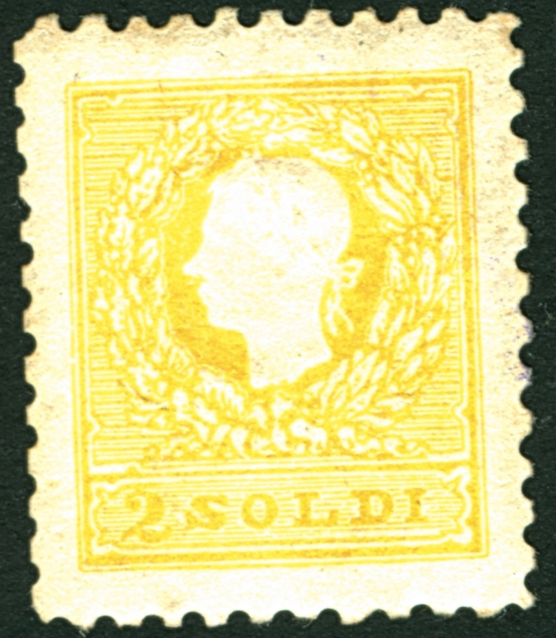 Lombardei-Venetien, Ausgabe 1858/62, 1859/62 2_sold10
