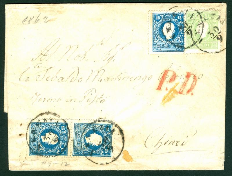 Lombardei-Venetien, Ausgabe 1858/62, 1859/62 31515110