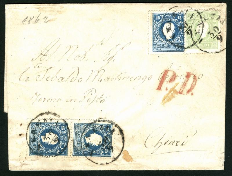 Lombardei-Venetien, Ausgabe 1858/62, 1859/62 31515111