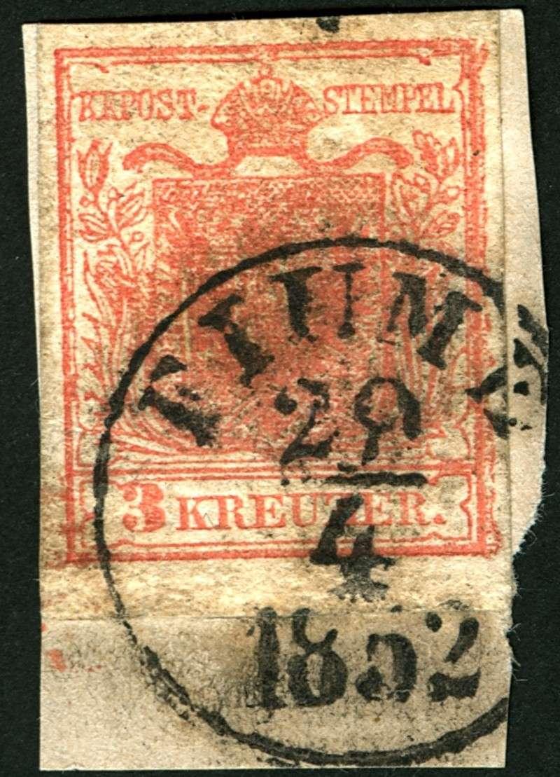 Die erste Österreichische Ausgabe 1850 3_kr_110