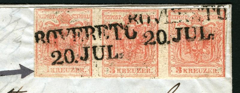 Die erste Österreichische Ausgabe 1850 3_x_3_10