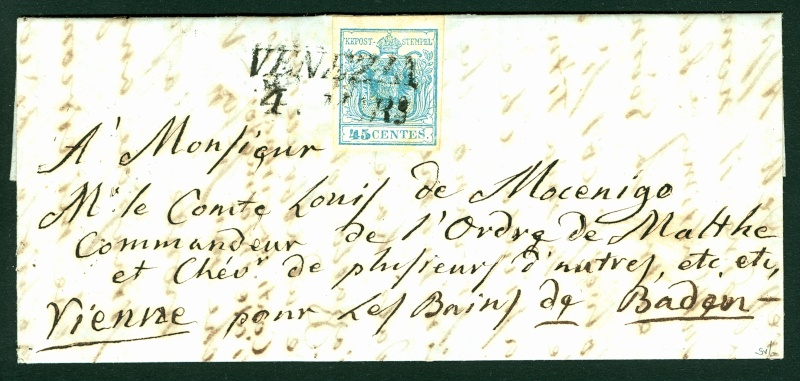 Lombardei - Venetien 1850 - 1858 45_cen10