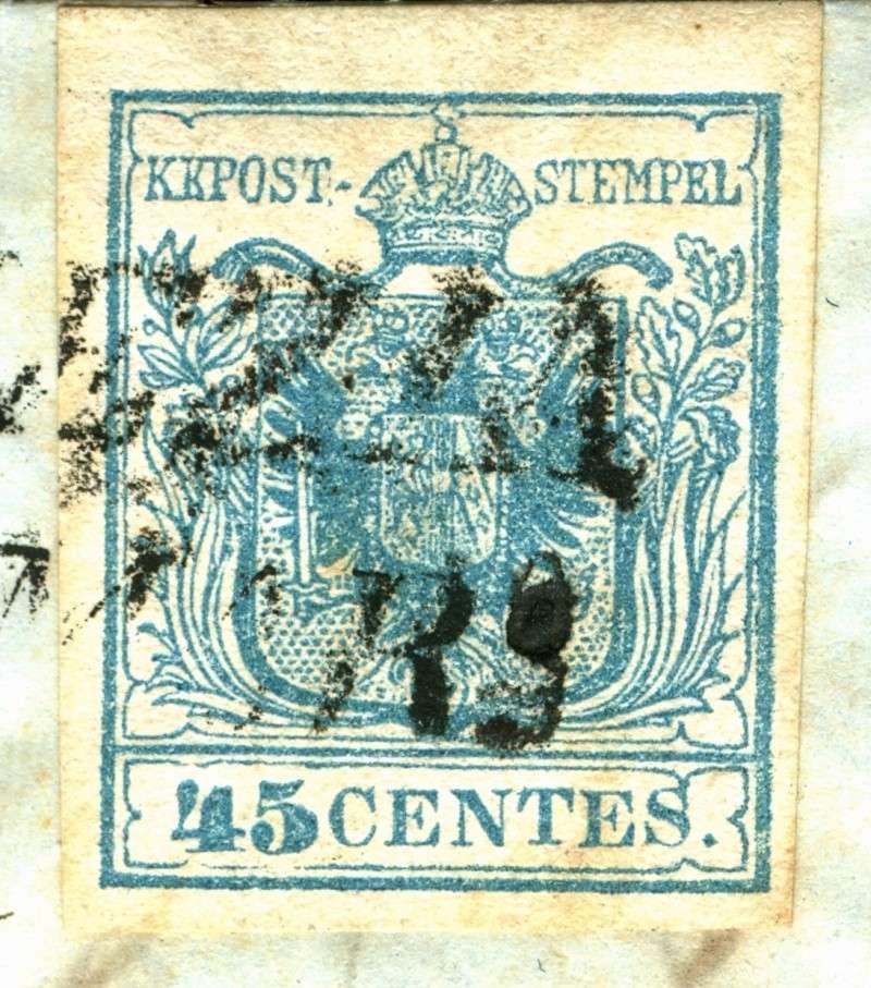 Lombardei - Venetien 1850 - 1858 45_cen11