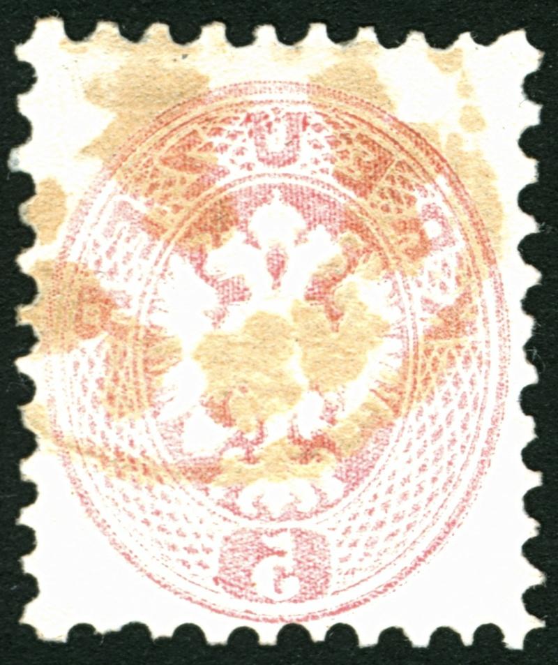 Die Freimarkenausgabe 1863/1864 5_kr_118