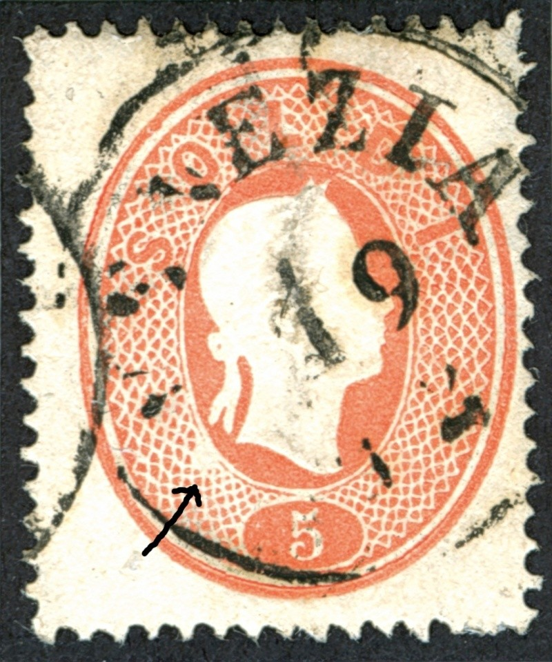 Lombardei-Venetien, Ausgabe 1861/62 5_s_1810