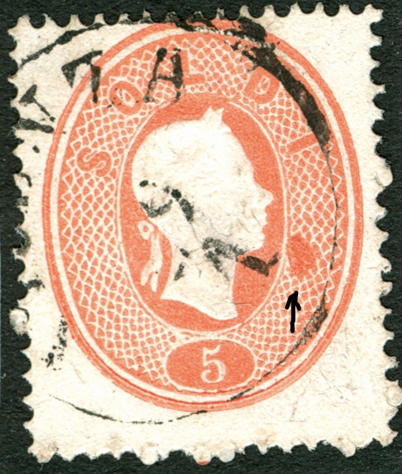 Lombardei-Venetien, Ausgabe 1861/62 5_s_1811
