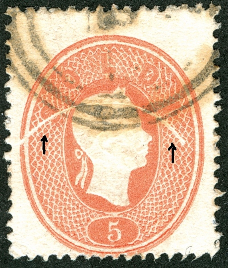 Lombardei-Venetien, Ausgabe 1861/62 5_s_1812