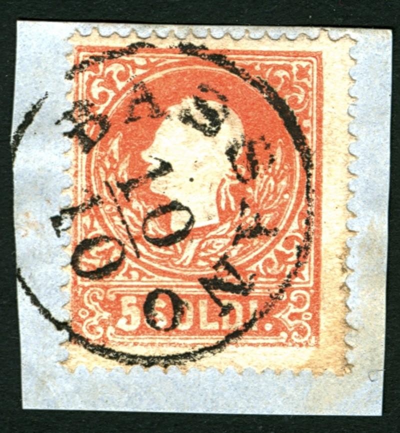 Lombardei-Venetien, Ausgabe 1858/62, 1859/62 5_sold10