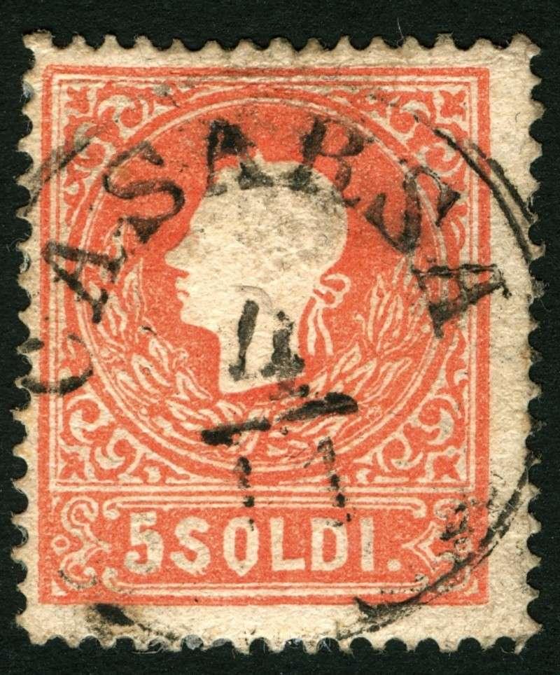 Lombardei-Venetien, Ausgabe 1858/62, 1859/62 5_sold11