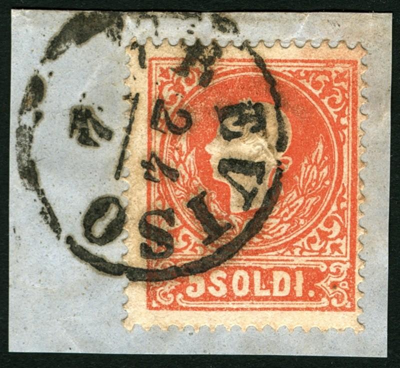 Lombardei-Venetien, Ausgabe 1858/62, 1859/62 5_sold13