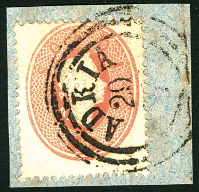 Lombardei-Venetien, Ausgabe 1861/62 5_sold15