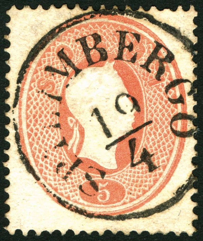 Lombardei-Venetien, Ausgabe 1861/62 5_sold16