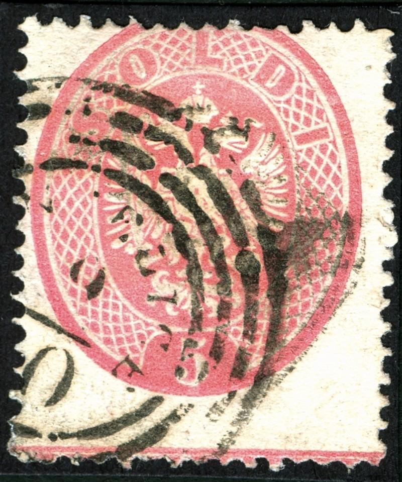 Lombardei-Venetien, Ausgaben 1863 und 1864 5_sold18