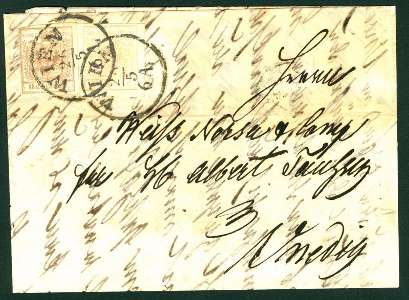 Die erste Österreichische Ausgabe 1850 - Seite 2 6__3_k10