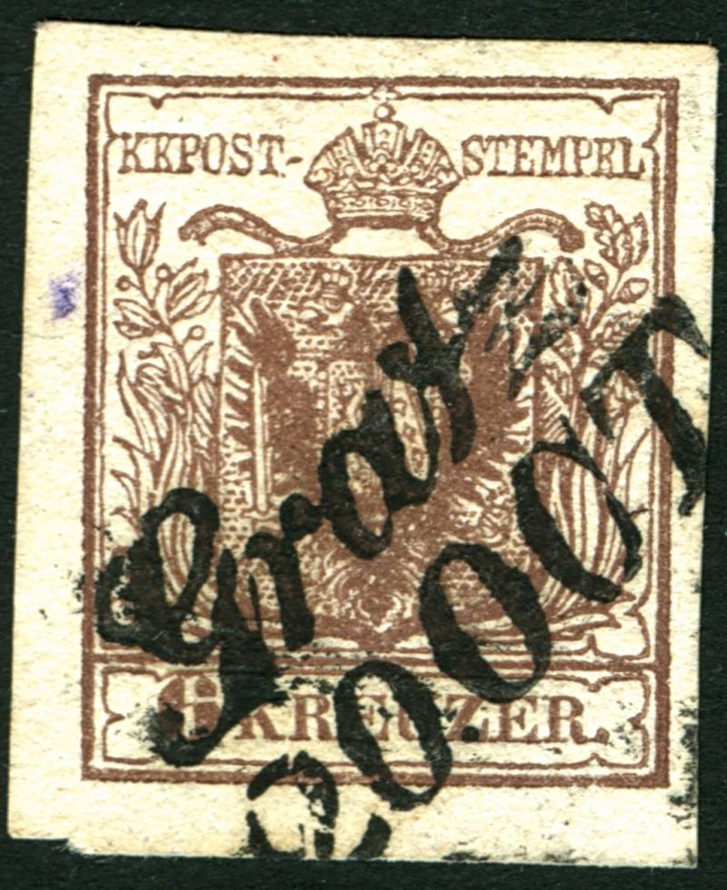 Die erste Österreichische Ausgabe 1850 - Seite 2 6_kr_t10