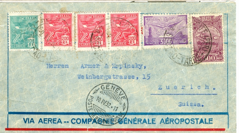 Flugpost Frankreich, wer weiß etwas dazu? Aeropo12