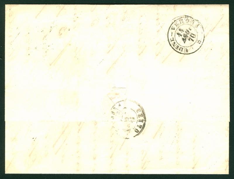 Freimarken-Ausgabe 1867 : Kopfbildnis Kaiser Franz Joseph I - Seite 4 Auslan10