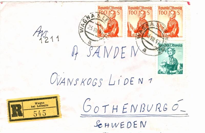 Trachtenserien ANK 887 - 923 und 1052 - 1072 Belege - Seite 6 Beleg210