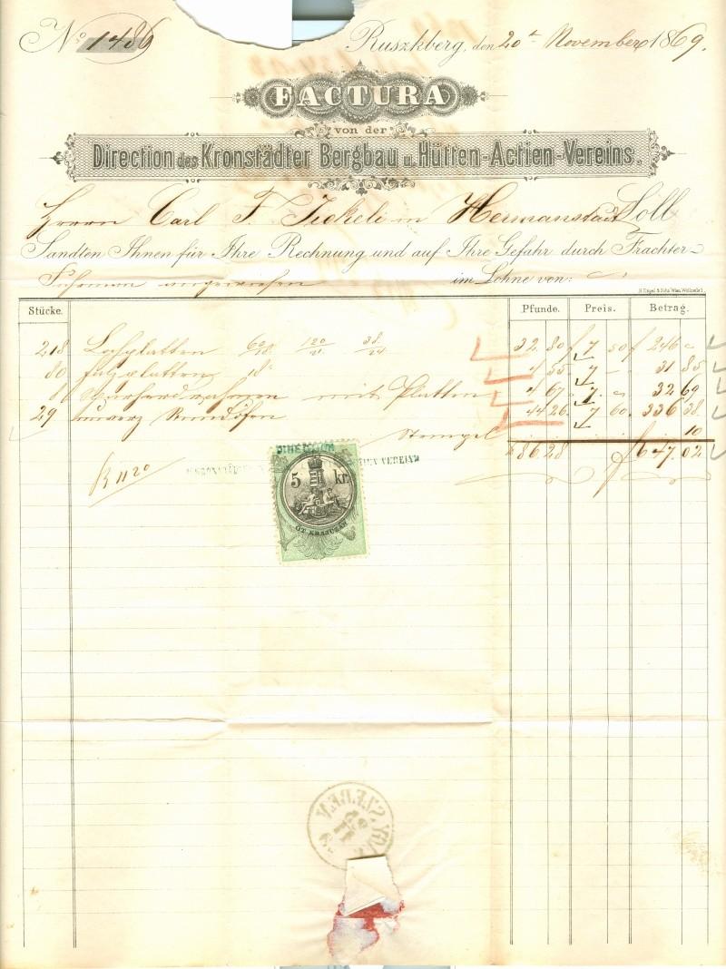 Freimarken-Ausgabe 1867 : Kopfbildnis Kaiser Franz Joseph I - Seite 3 Brief_12