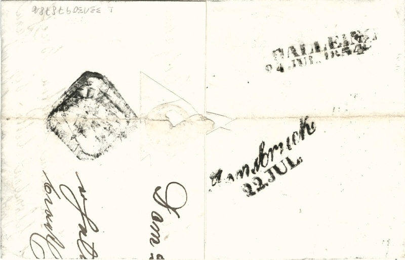 Die erste Österreichische Ausgabe 1850 Brief_15