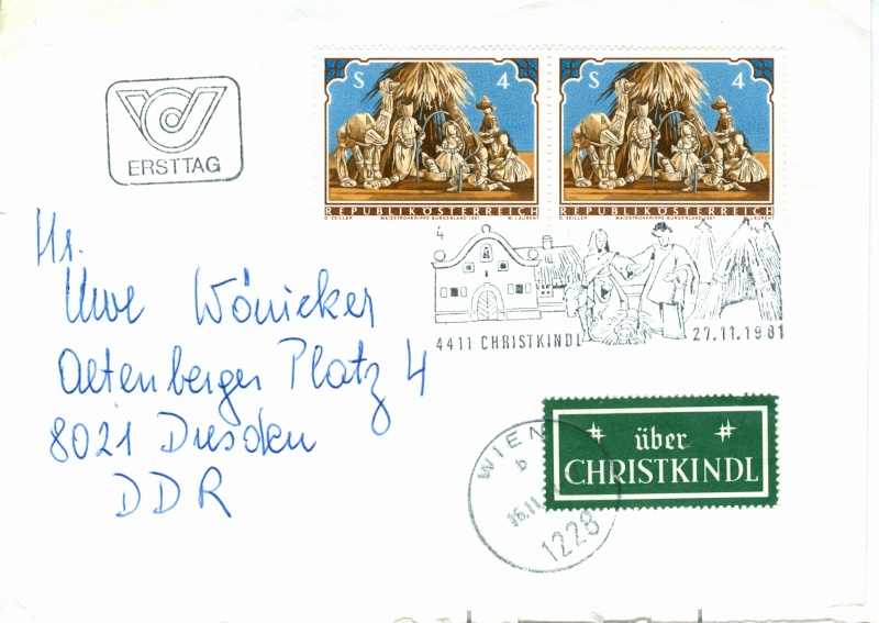 Christkindl Stempel Christ18