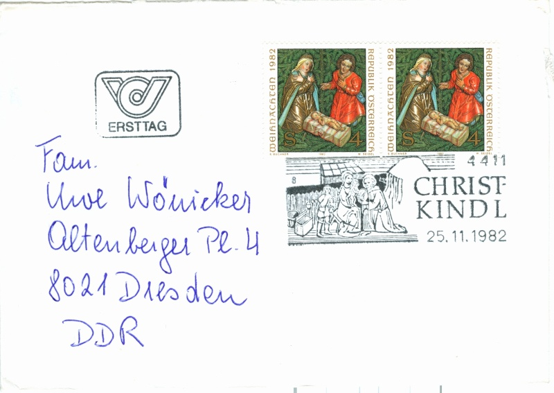 Christkindl Stempel Christ19