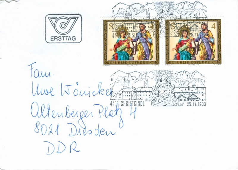 Christkindl Stempel Christ20
