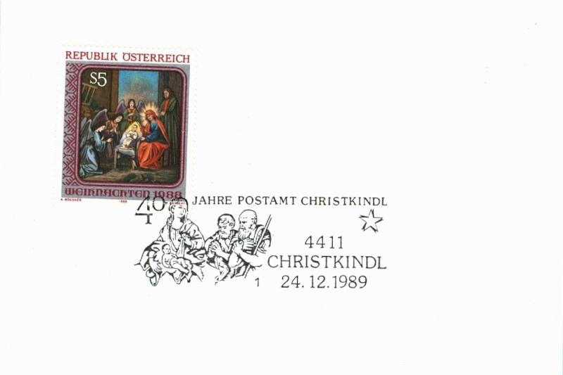 Christkindl Stempel Christ22