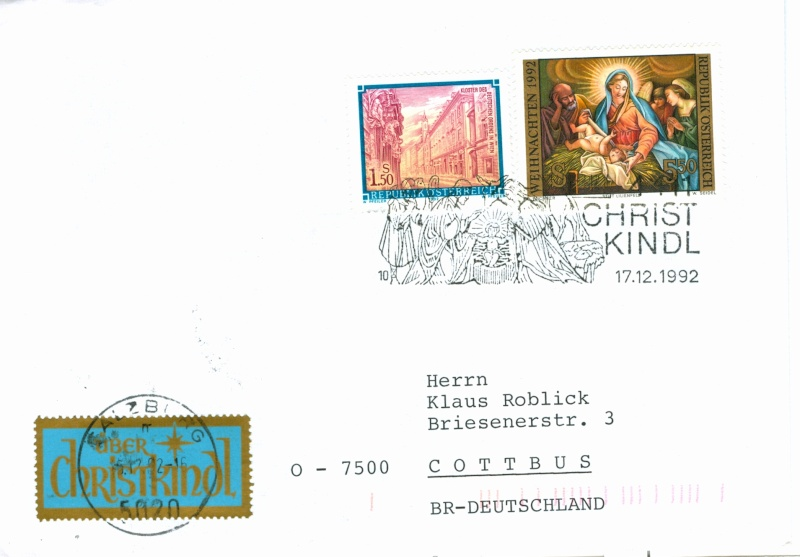 Christkindl Stempel Christ24