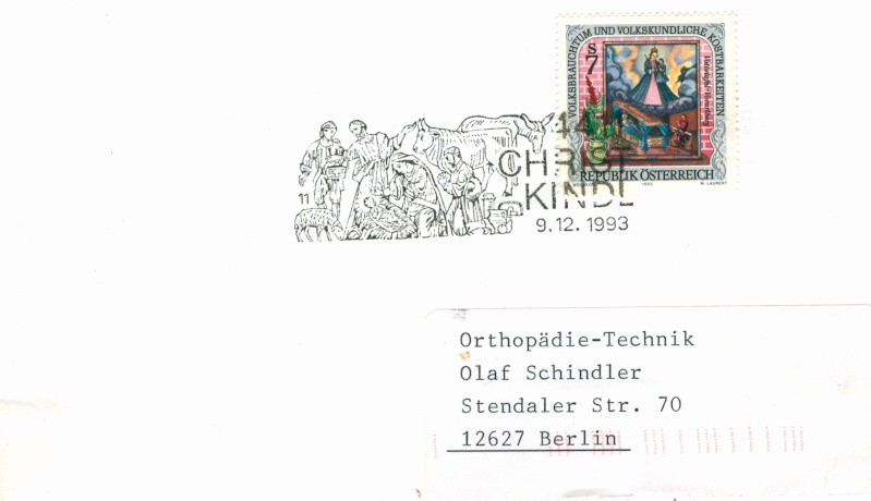 Christkindl Stempel Christ25