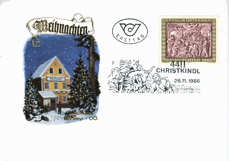 Christkindl Stempel Christ26