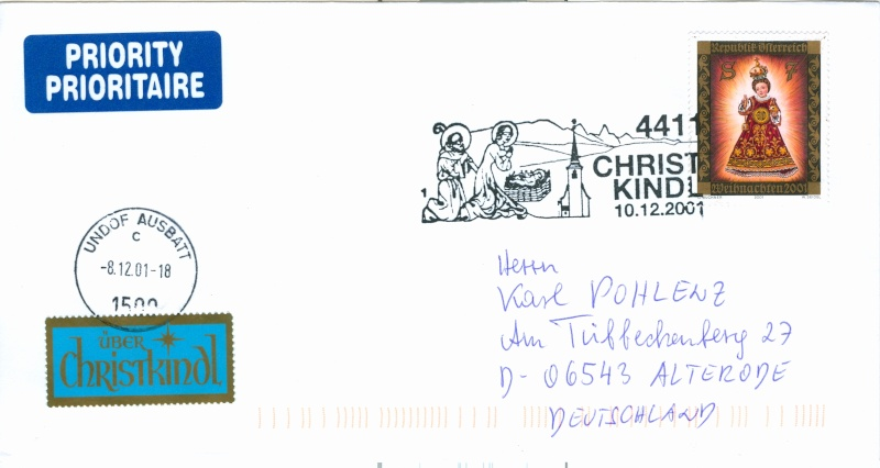 Christkindl Stempel Christ28