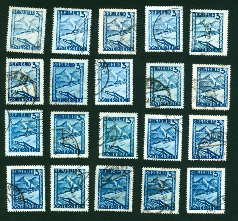 1945 - Spezialitäten der Landschaftserie 1945 Farbun10