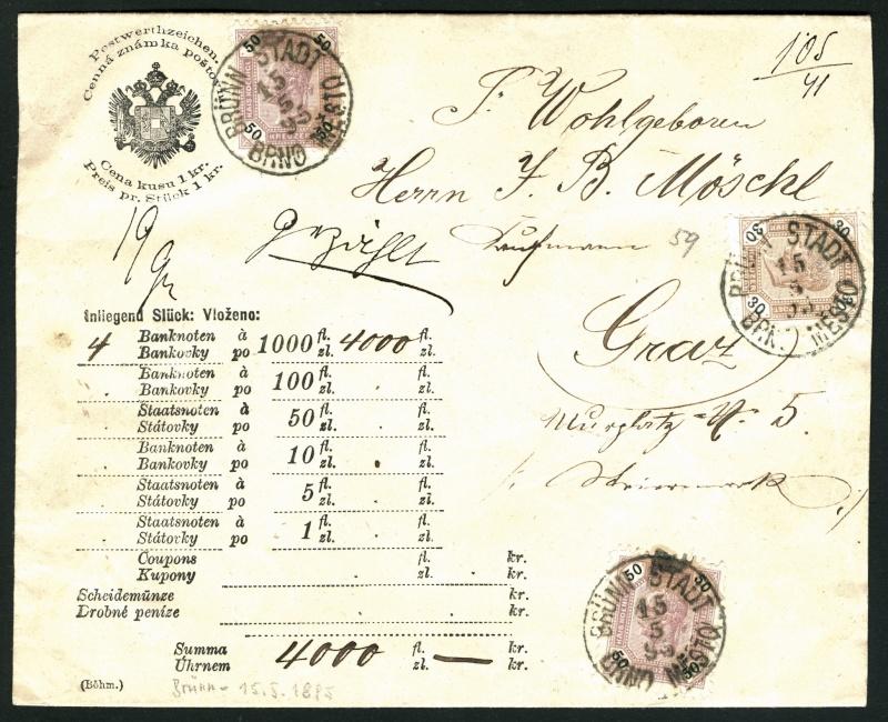 Die Freimarkenausgabe 1891/1896 Geldbr12