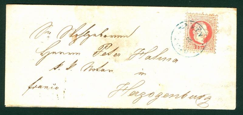 Freimarken-Ausgabe 1867 : Kopfbildnis Kaiser Franz Joseph I - Seite 3 Gutens10