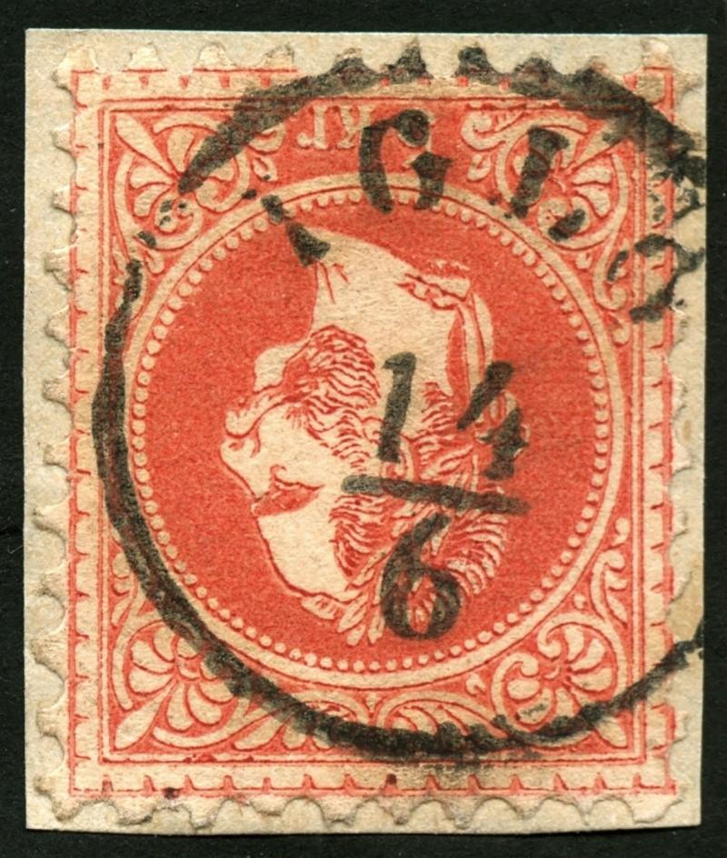 Freimarken-Ausgabe 1867 : Kopfbildnis Kaiser Franz Joseph I - Seite 5 Iglau10