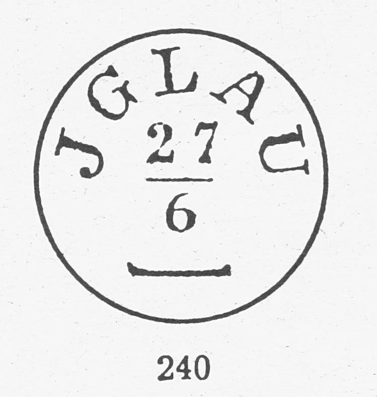 Freimarken-Ausgabe 1867 : Kopfbildnis Kaiser Franz Joseph I - Seite 5 Jglau210