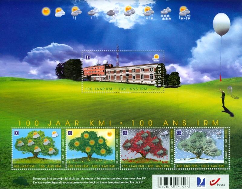 Neuheit Belgien : Temperaturempfindliche Briefmarken Kmi10