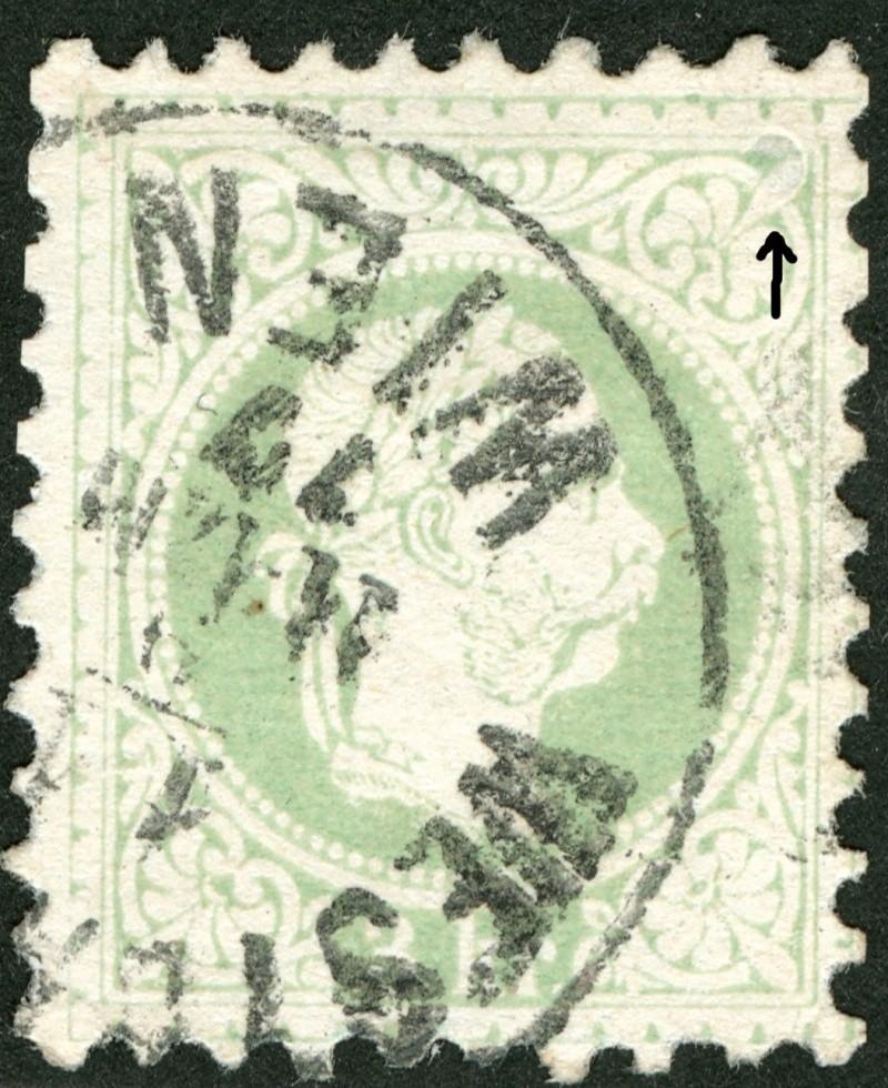 Freimarken-Ausgabe 1867 : Kopfbildnis Kaiser Franz Joseph I - Seite 5 Nagel210