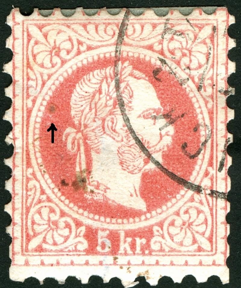 Freimarken-Ausgabe 1867 : Kopfbildnis Kaiser Franz Joseph I - Seite 5 Nagel310