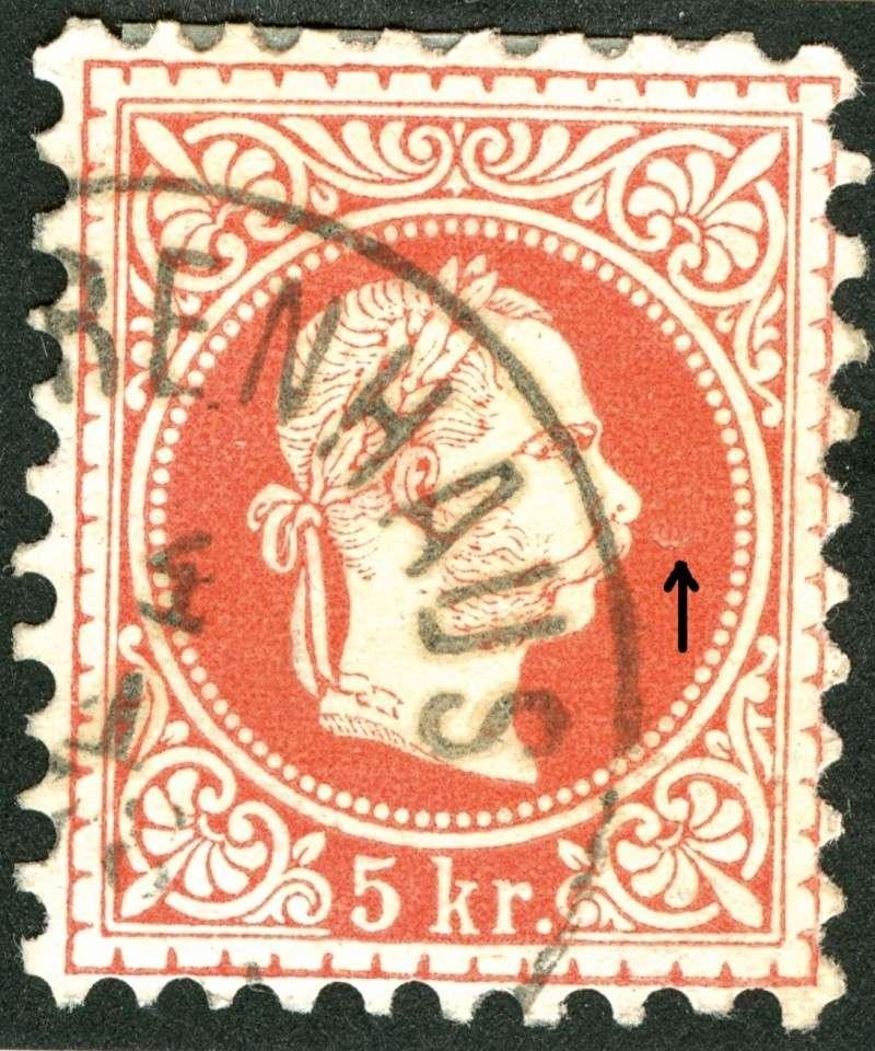 Freimarken-Ausgabe 1867 : Kopfbildnis Kaiser Franz Joseph I - Seite 5 Nagel510