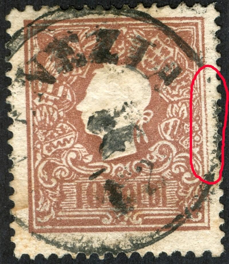 Lombardei-Venetien, Ausgabe 1858/62, 1859/62 Pf1110