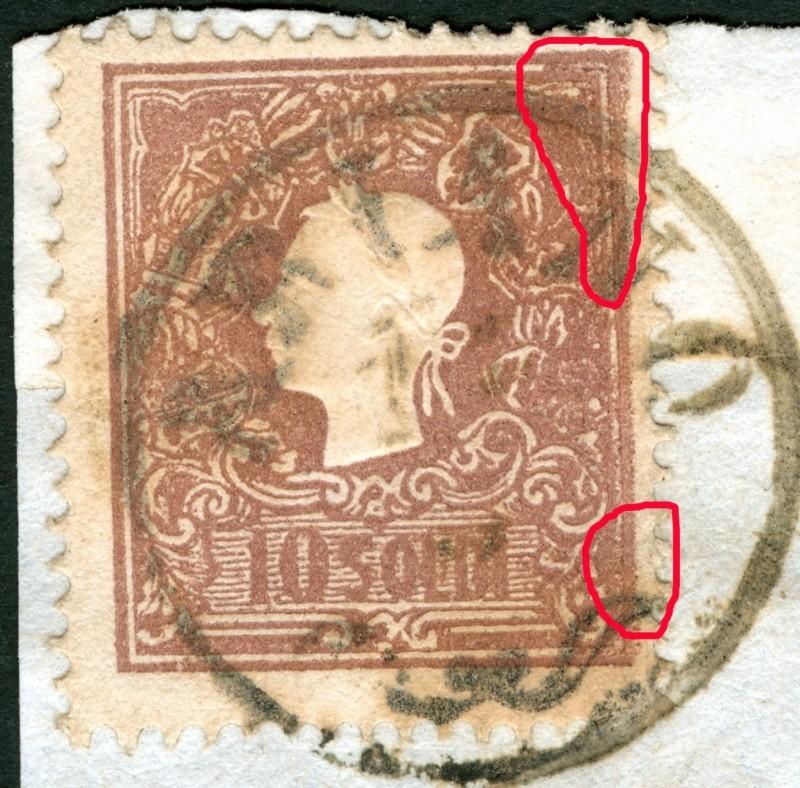 Lombardei-Venetien, Ausgabe 1858/62, 1859/62 Pf2010