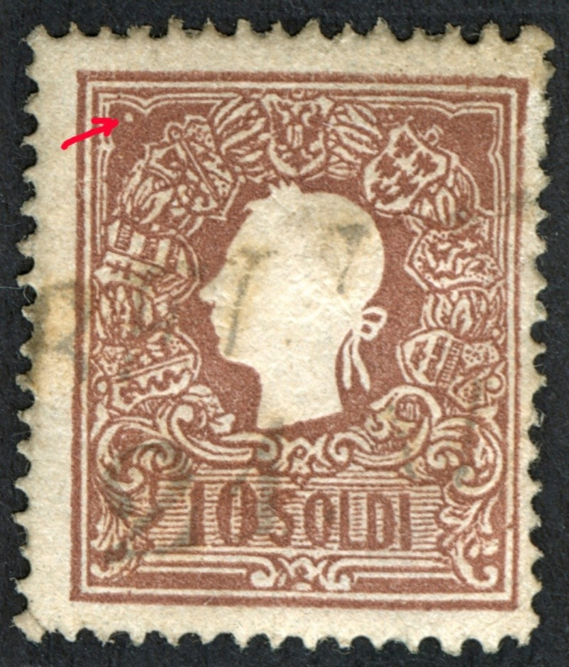 Lombardei-Venetien, Ausgabe 1858/62, 1859/62 Pf510