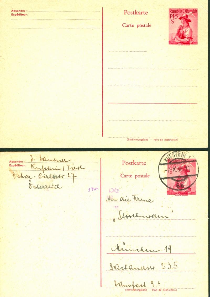 Trachtenserien ANK 887 - 923 und 1052 - 1072 Belege - Seite 6 Postka10